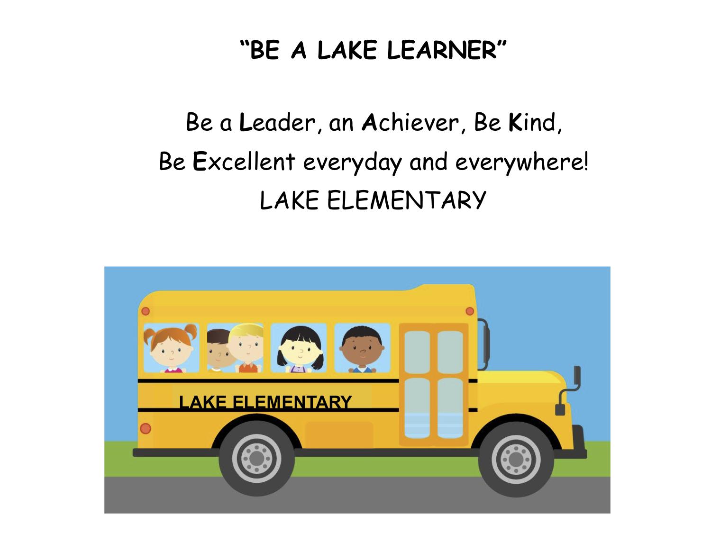Be a LAKE Learner