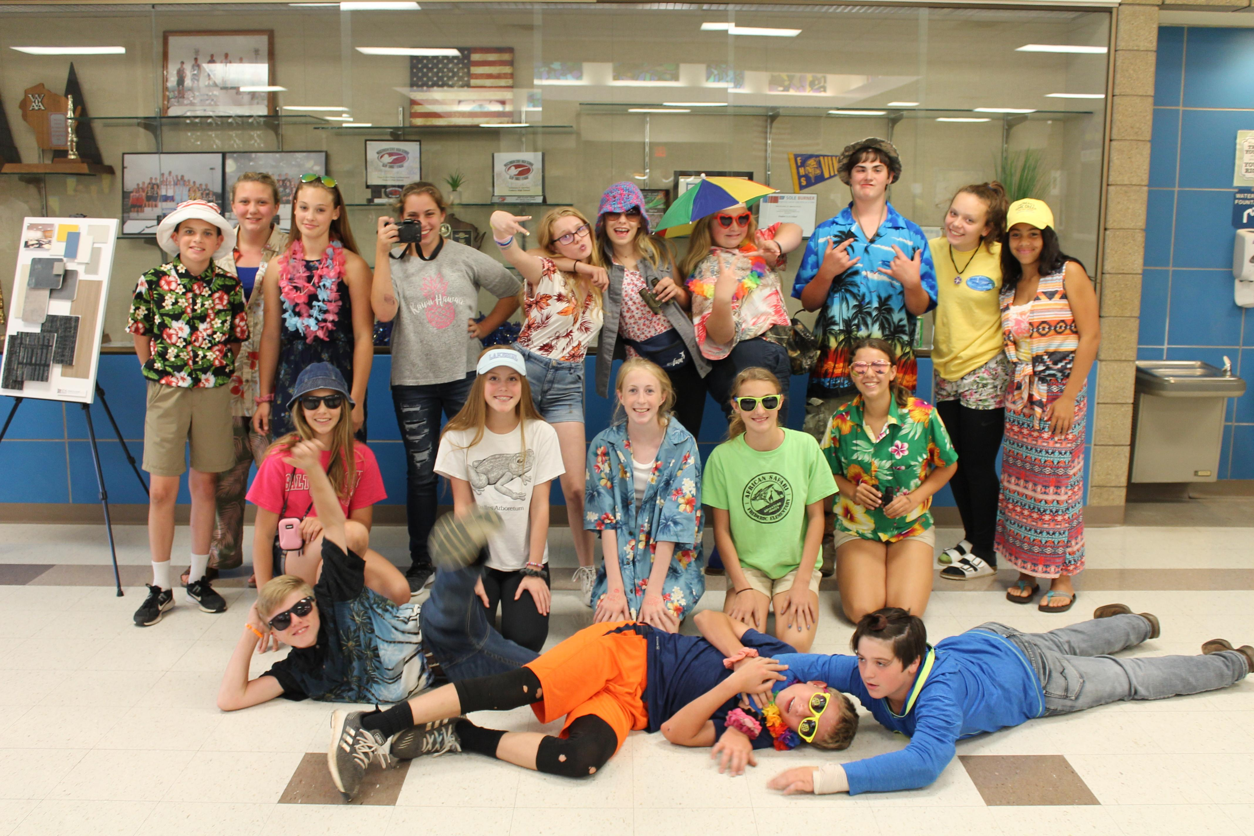 8th Grade Dress Up - Tourist