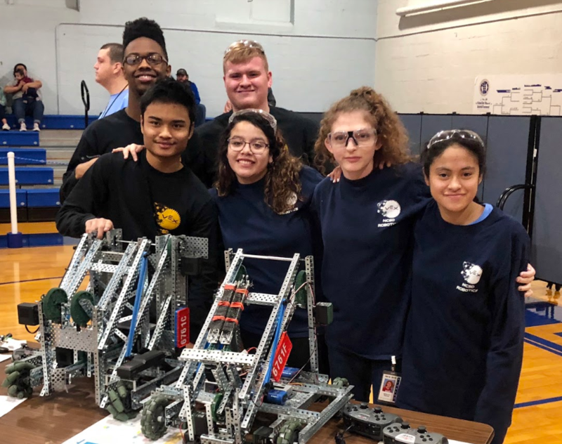 NCSD Hosts 1st VEX DHH Tournament Featured Photo