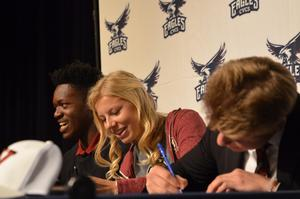 Ndumanya, Rutz, and Wood sign letters of intent!