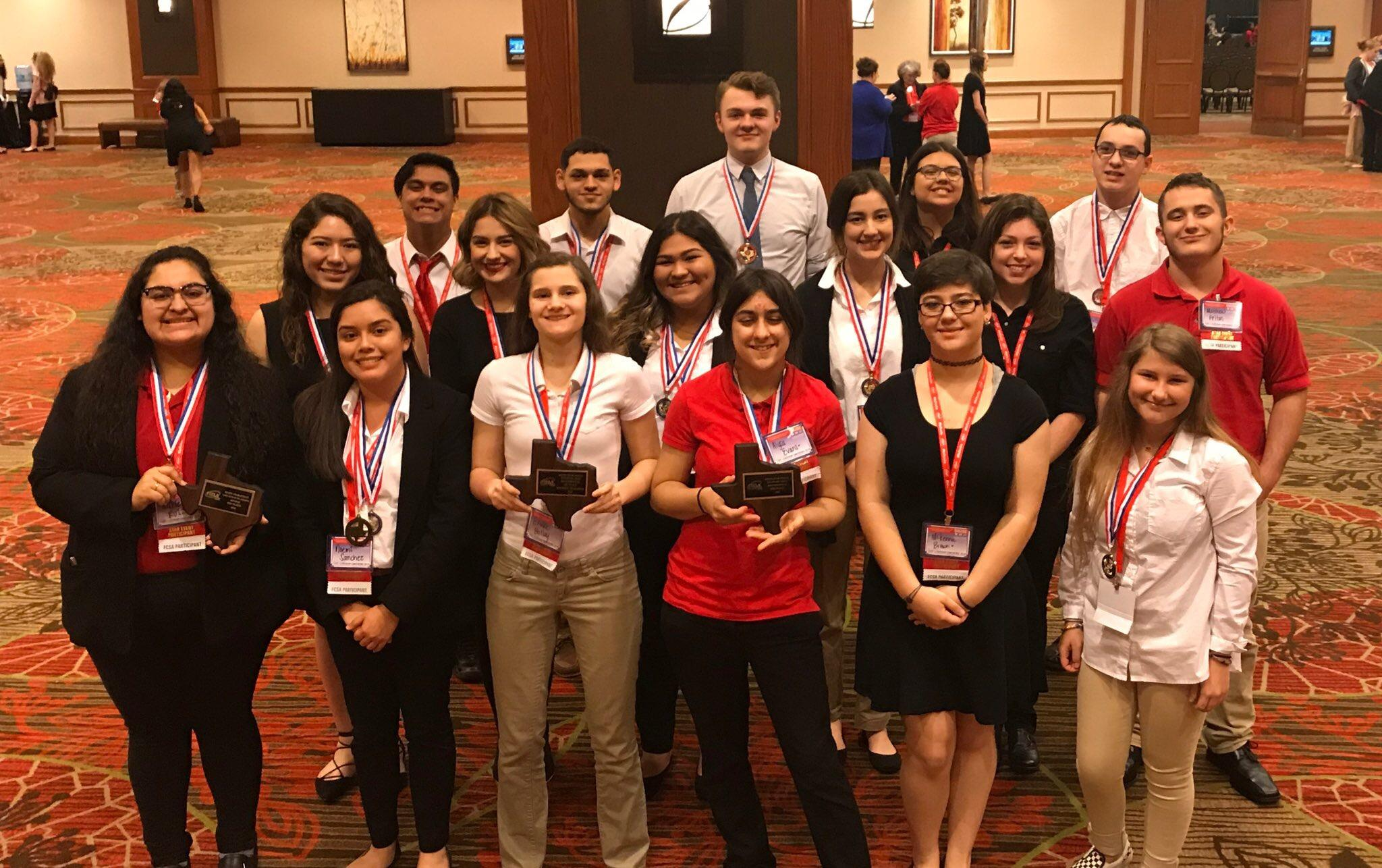 Brewer FCCLA Students win state awards, several advance to Nationals