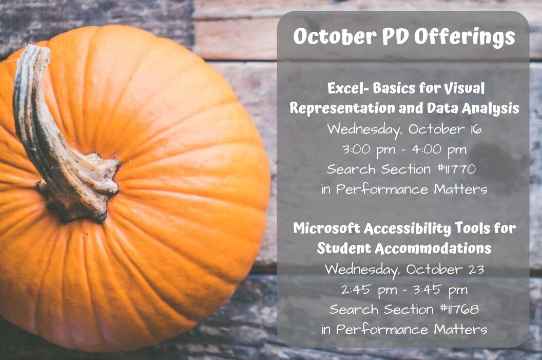 October PD