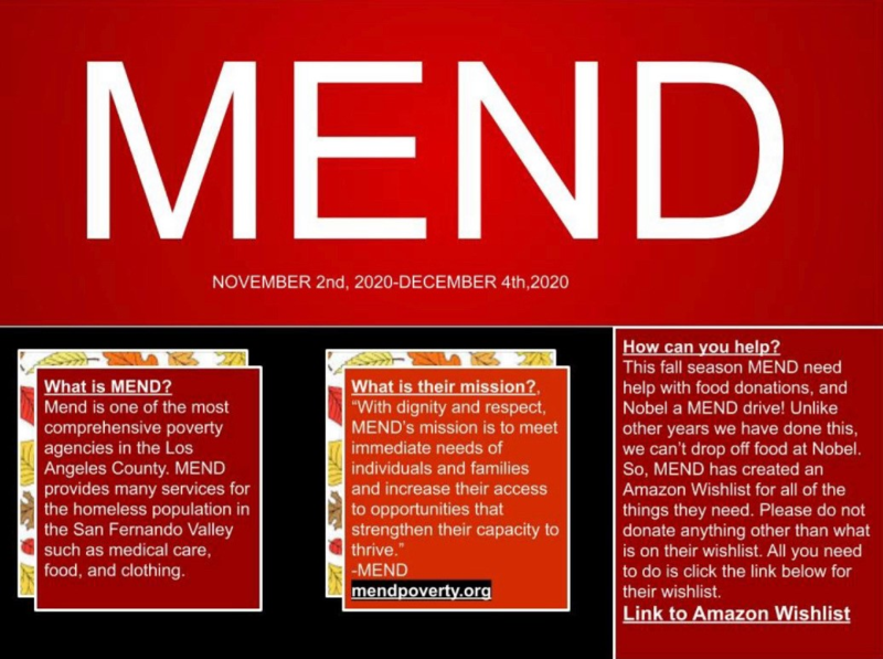 Donate to MEND! Featured Photo