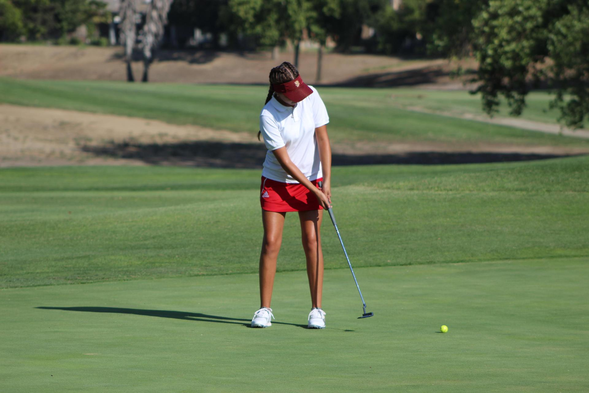 Girls Golfing vs El Capitan August 16 2018