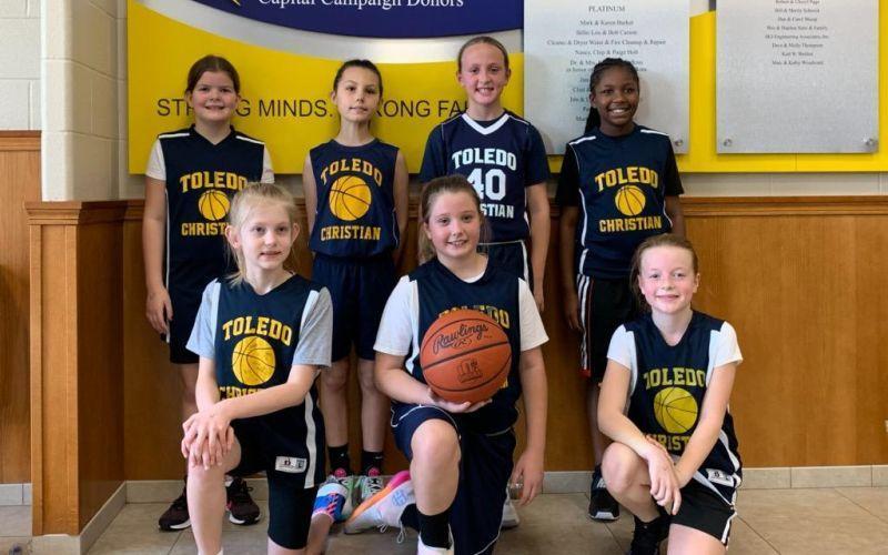 Jr. girls basketball (3rd and 4th)