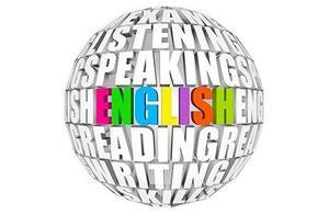 World of learning the language of English