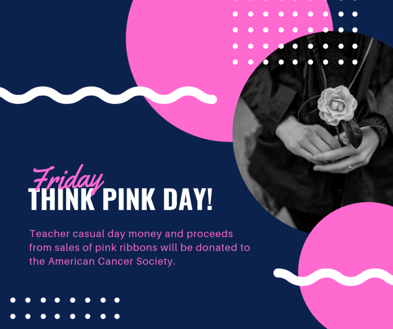 Friday Think Pink Day