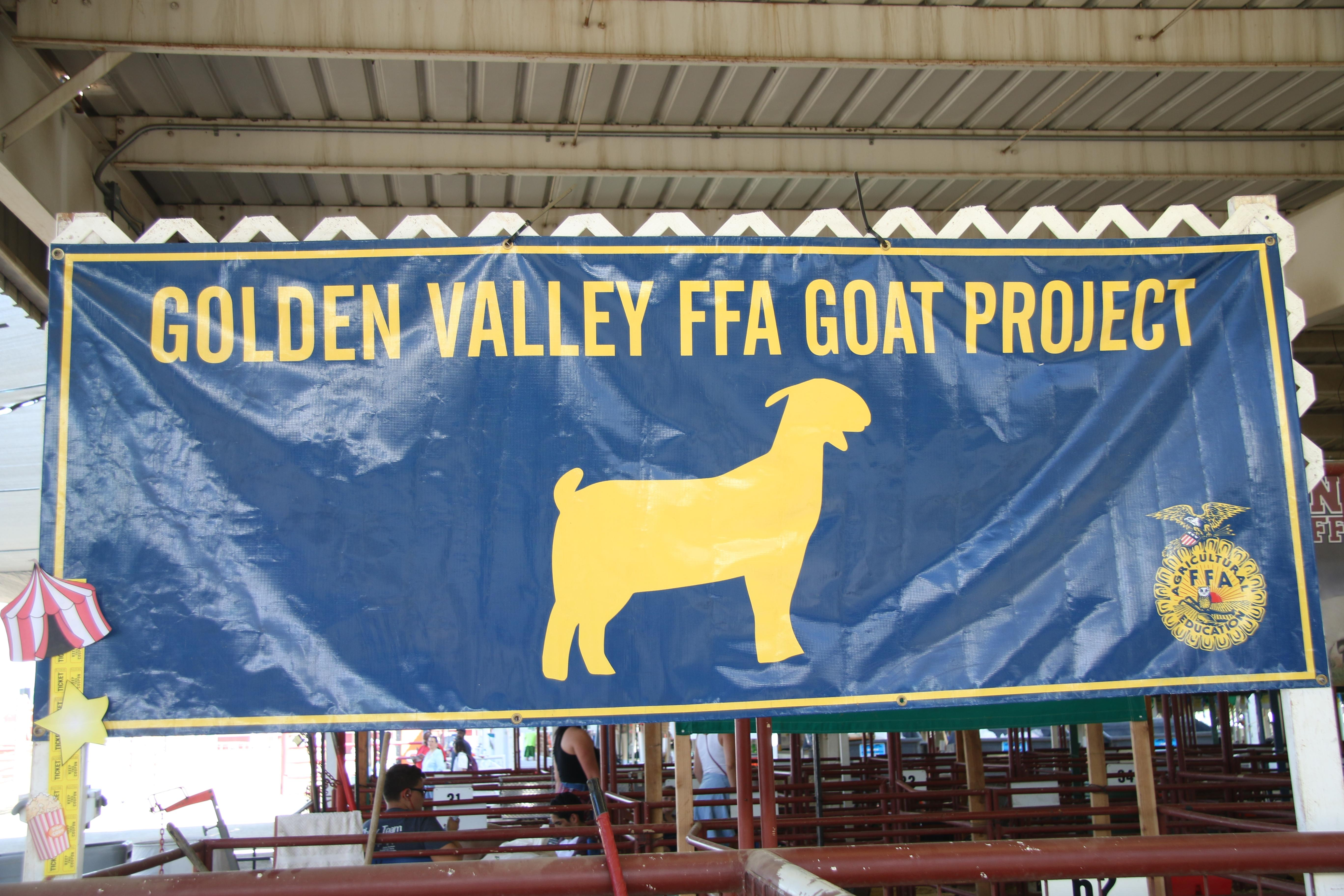 Golden Valley FFA sign