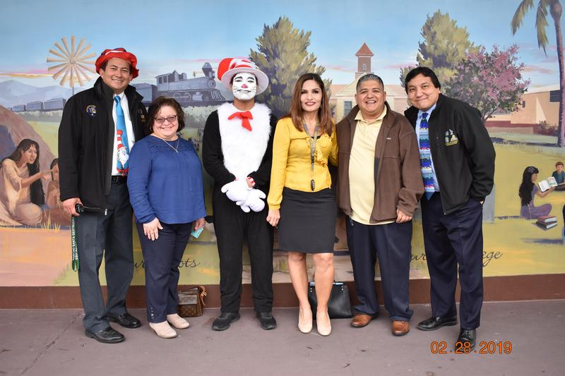Rancho Celebrates Read Across America 2/28/2019 Featured Photo