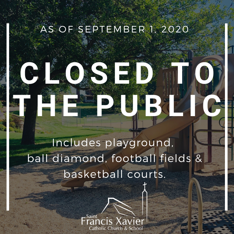 Grounds Closed to the Public as of 9/1/2020 Thumbnail Image