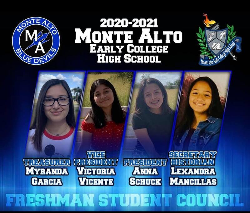 2020-2021 Monte Alto ECHS Student Council: Freshman Class Featured Photo