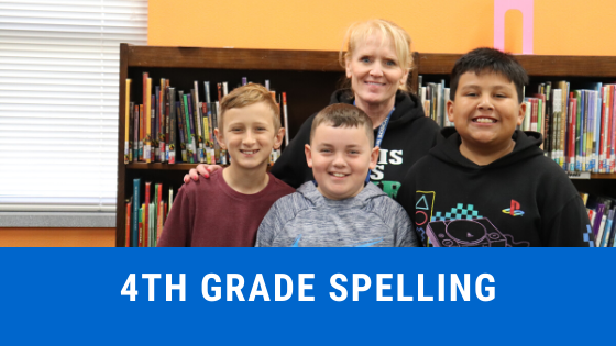 4th grade spelling