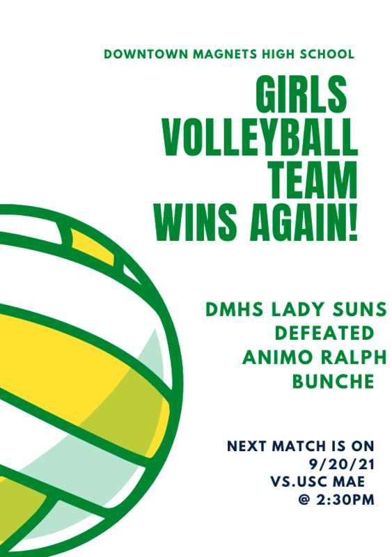 Congratulations to our Girls Volleyball team! Featured Photo
