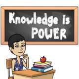 Picture of message: Knowledge is Power