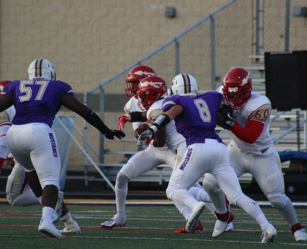 PHSD Varsity Football Game vs Plum - 082617