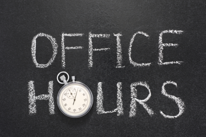 Distance Learning Teacher and Staff Office Hours Featured Photo