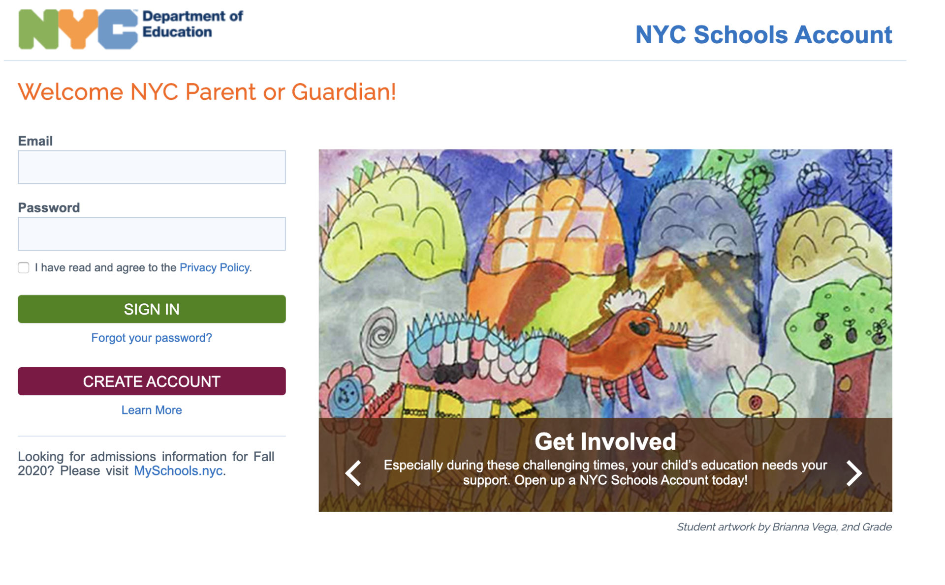 NYC School Account
