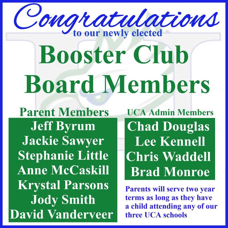 Congratulations to New Booster Club Board Members Featured Photo