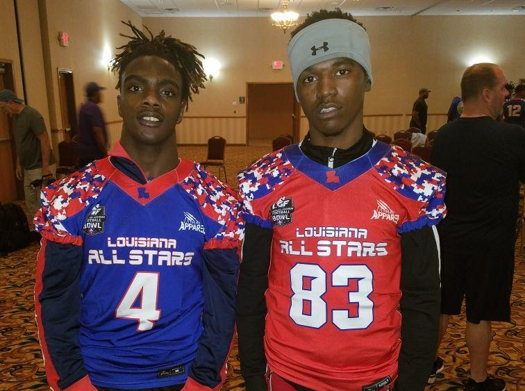 Baker High Athletes at the 2019 LA All Stars Jersey Ceremony