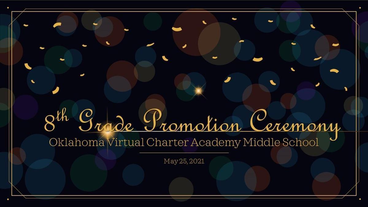 Picture: 8th Grade Graduation Ceremony