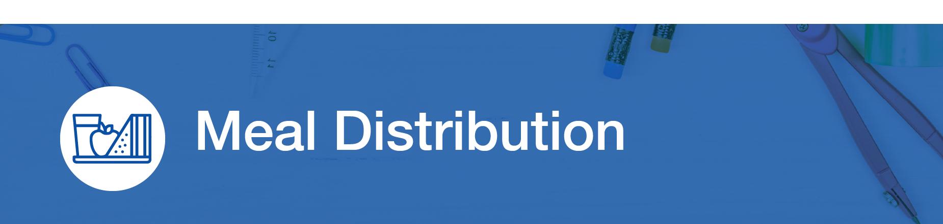 Meal Distribution Banner
