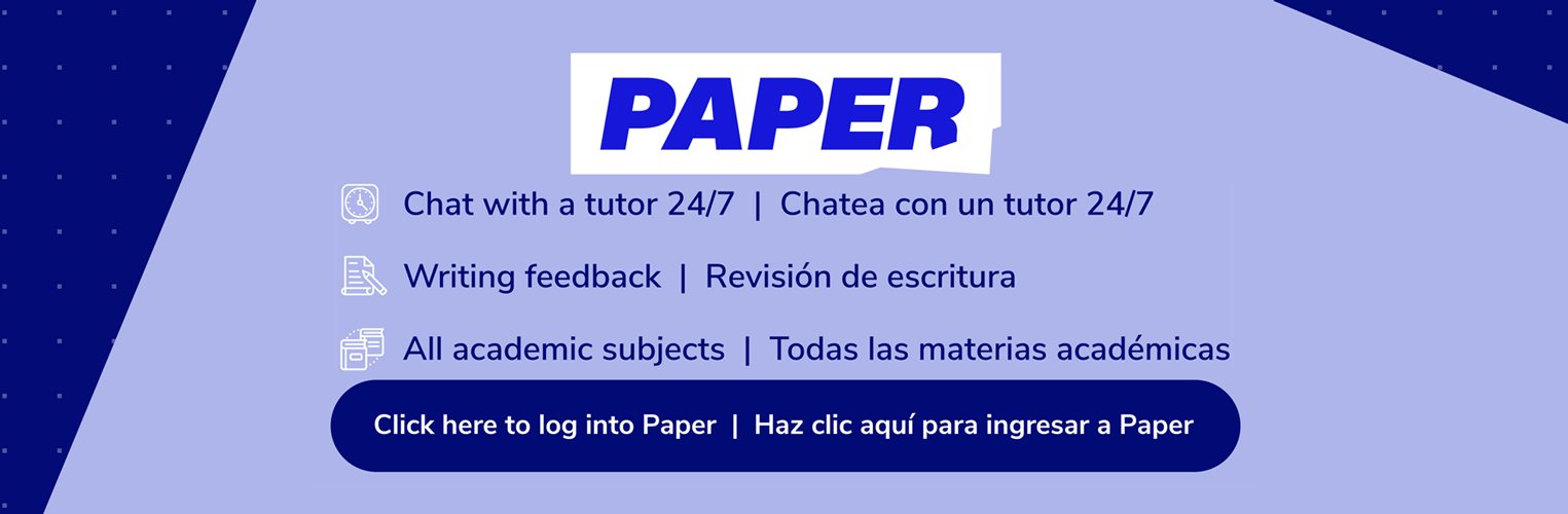 Paper learning.