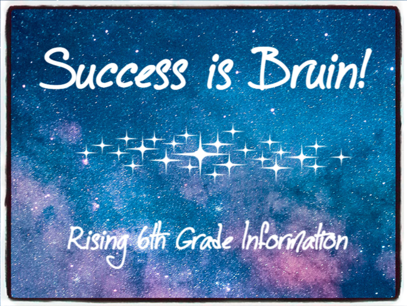 Information for Rising 6th Graders Featured Photo