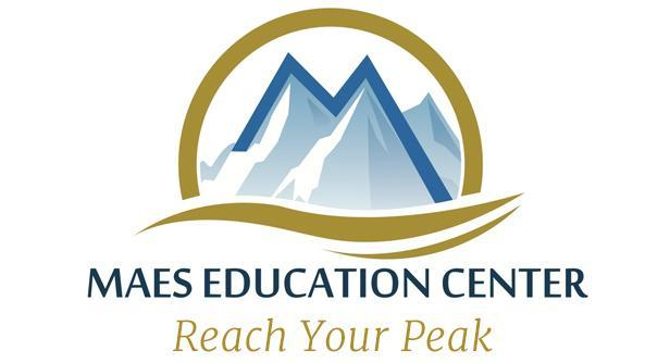 Maes Education Center Logo and link