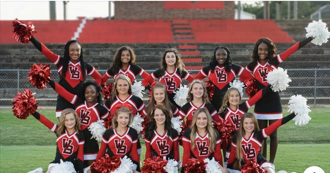 WBMS 2019-2020 Cheerleaders