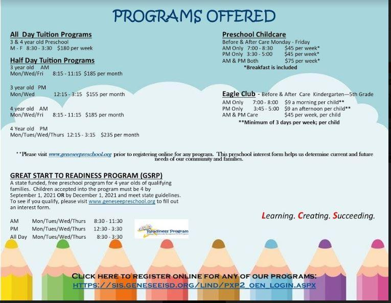 Pricing and programing