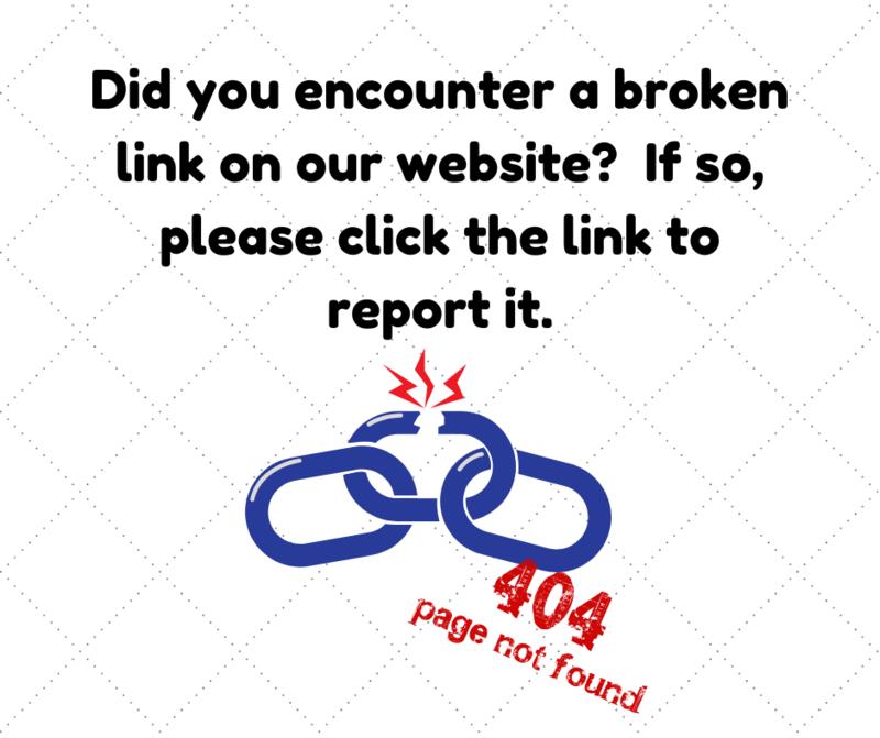 report a broken link