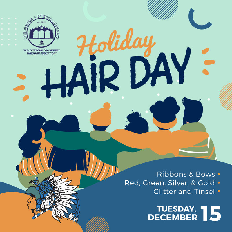 Holiday Hair Day Featured Photo