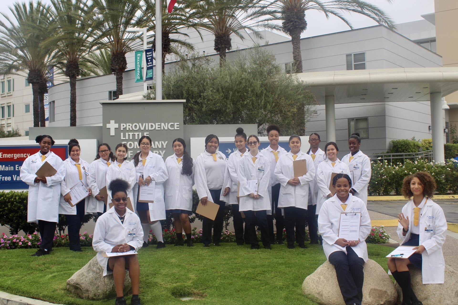health career hospital visit