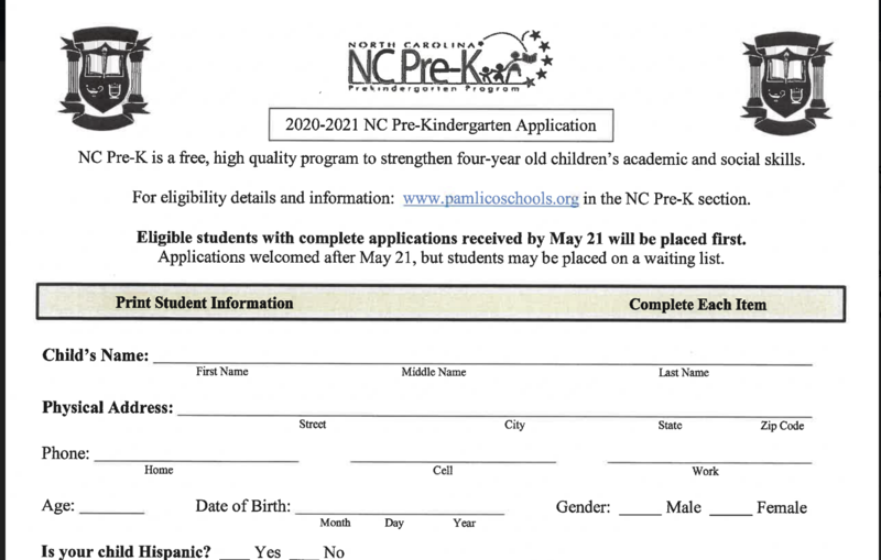 Pre-K/Kindergarten Registration