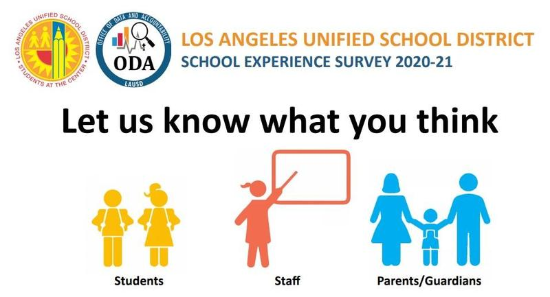 LAUSD School Experience Survey Featured Photo