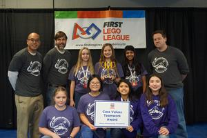 Gamma Girls Lego Robotics Team