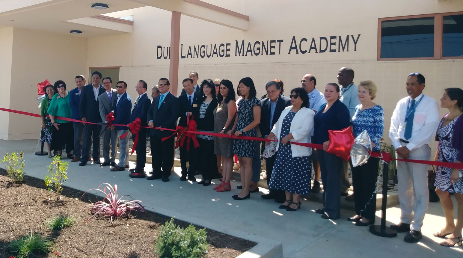 Duff Dual Language Magnet Academy Grand Re-Opening