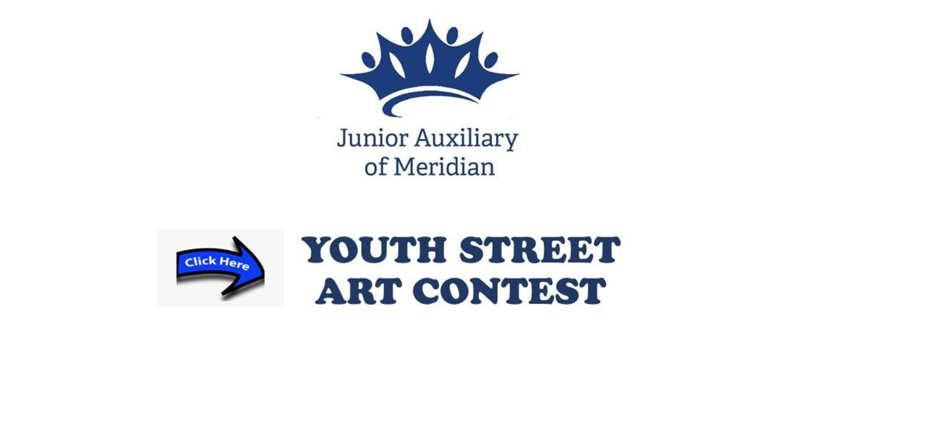 Junior Auxiliary Youth Street Art Contest Graphic