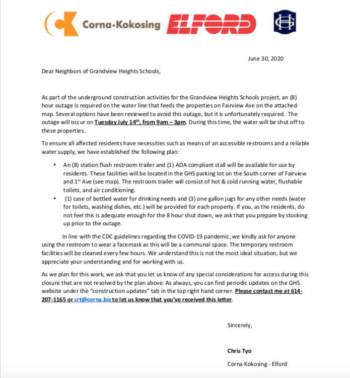 letter from CKE