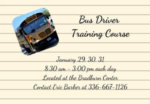 Bus Driver Training Course