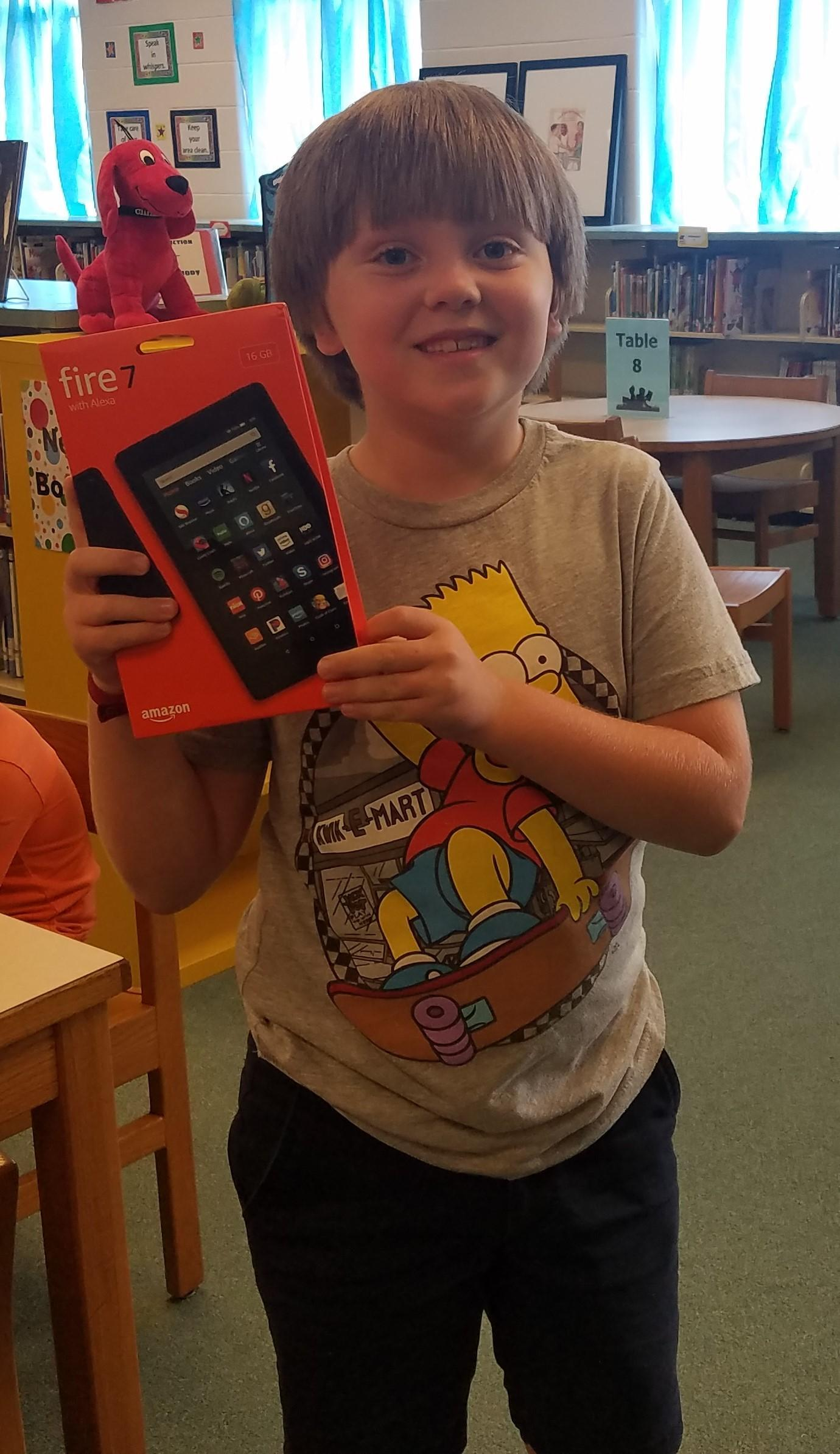 Amazon Tablet Winner
