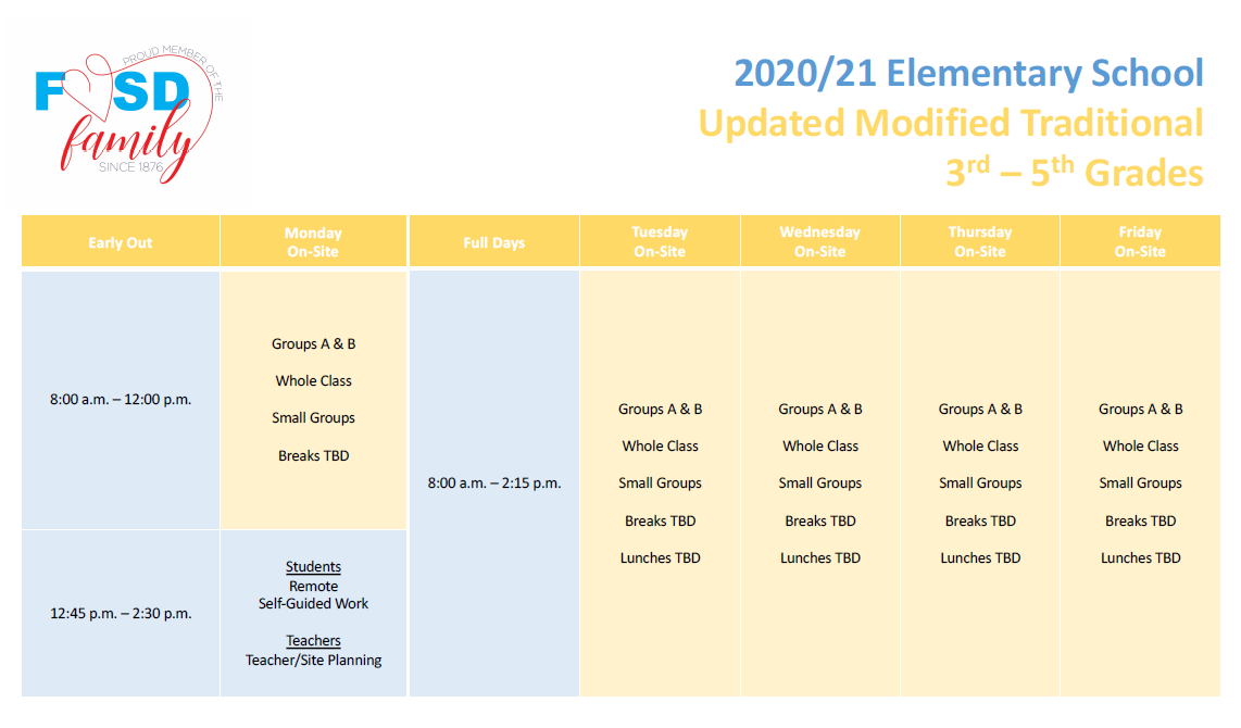 3rd-5th Grade Daily Instructional Schedule (Please call 714-843-3200 if you need assistance accessing this information)