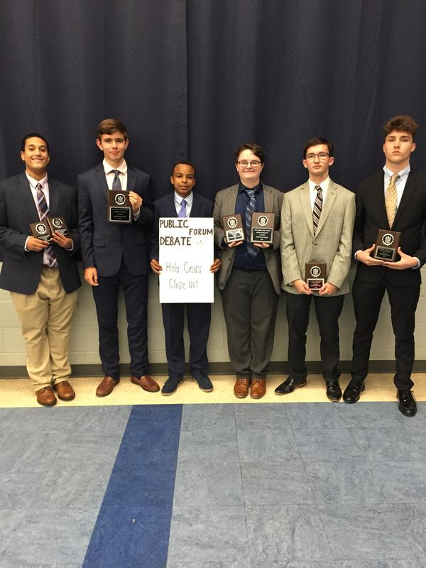 Debate Teams Undefeated in Teurlings Catholic Tournament Featured Photo