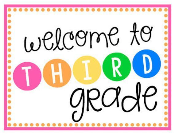 Welcome to 3rd Grade – 3rd Grade – Francisca Alvarez Elementary School