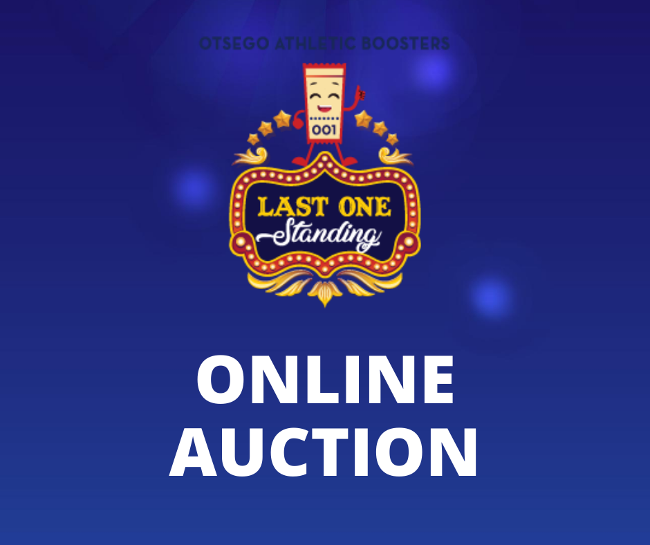 last one standing online auction graphic