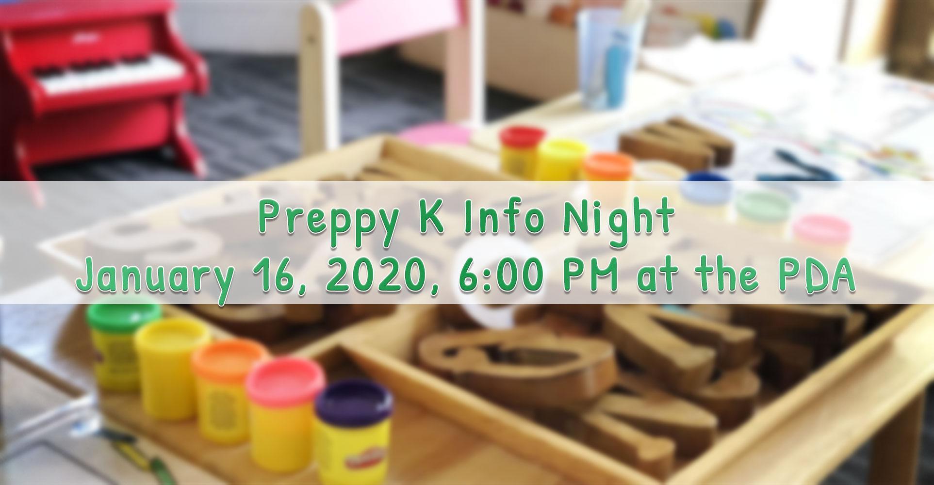 Preppy K Info Night
