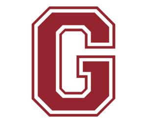 G maroon logo
