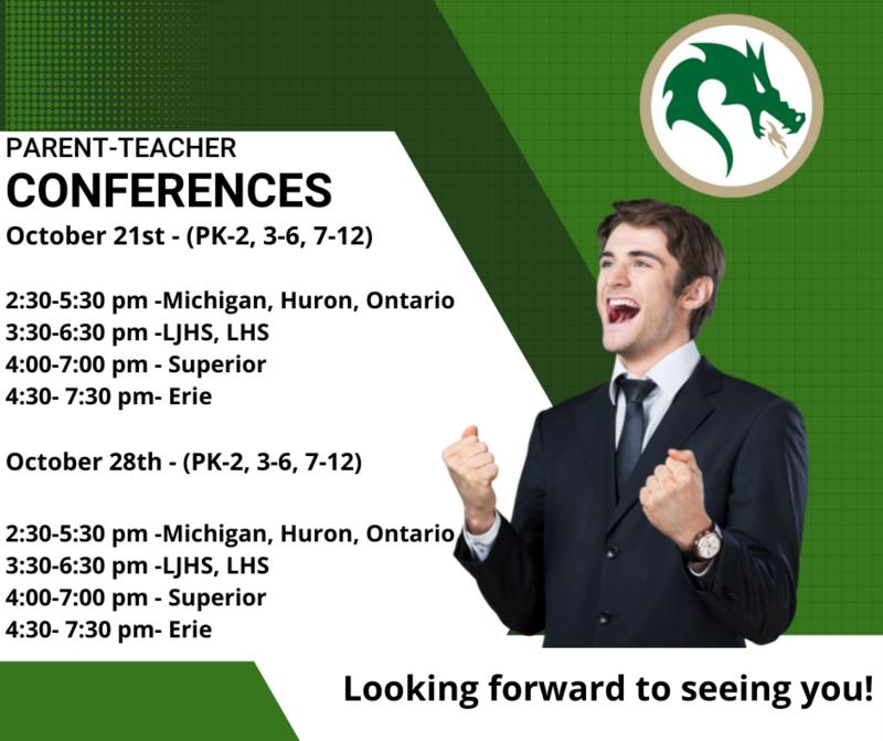 Parent Teacher Conferences Thursday, October 21st 3:30-6:30 Featured Photo