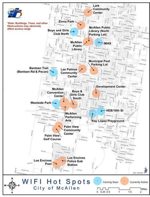 McAllen Hotspots