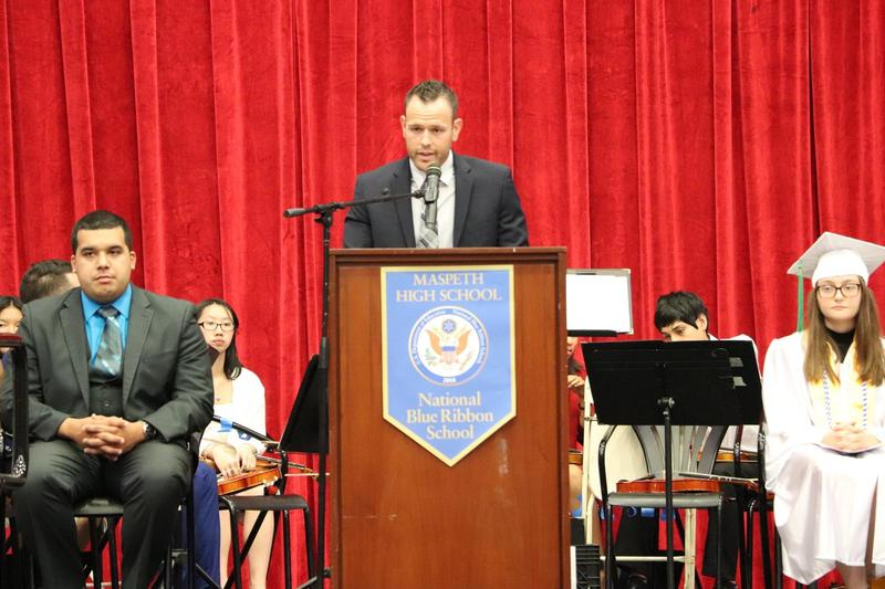 Maspeth High School AP Doubles As MC Featured Photo